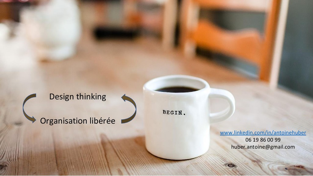 Design thinking Organisation libérée www.linked...