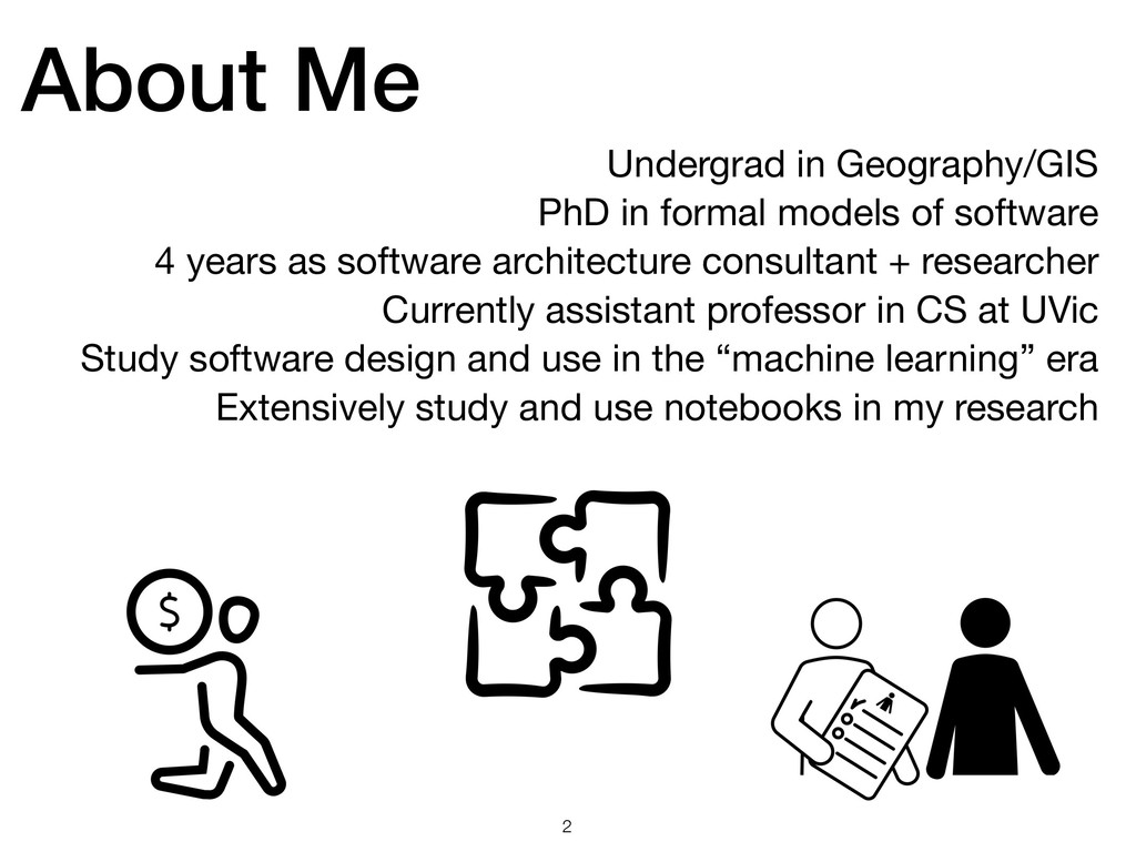 About Me !2 Undergrad in Geography/GIS  PhD in ...