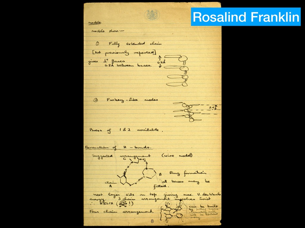 !8 Rosalind Franklin