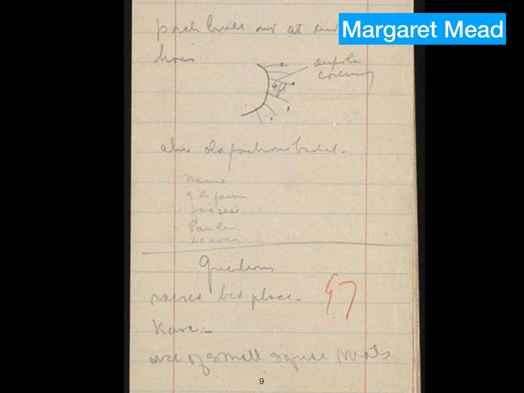 !9 Margaret Mead