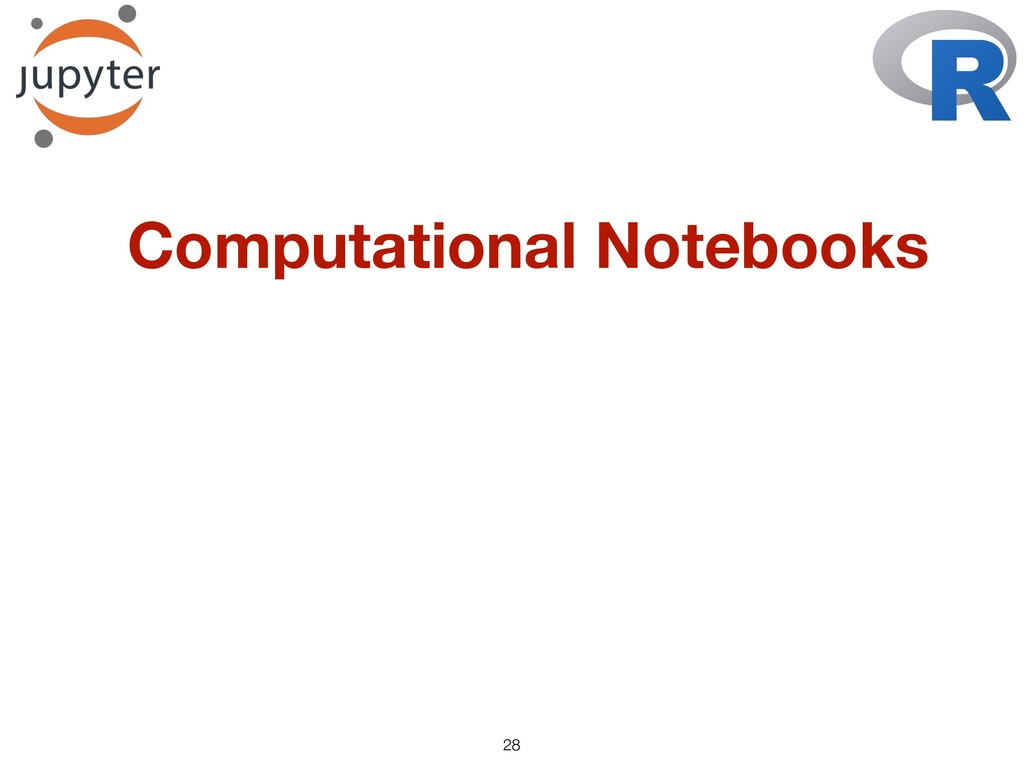 !28 Computational Notebooks