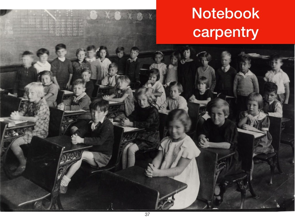 !37 Notebook carpentry