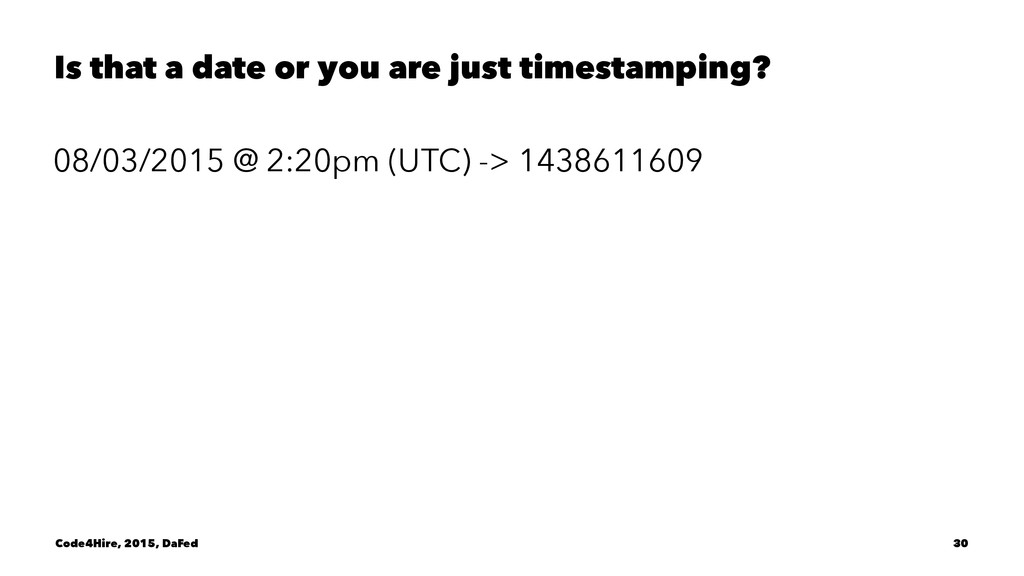 Is that a date or you are just timestamping? 08...