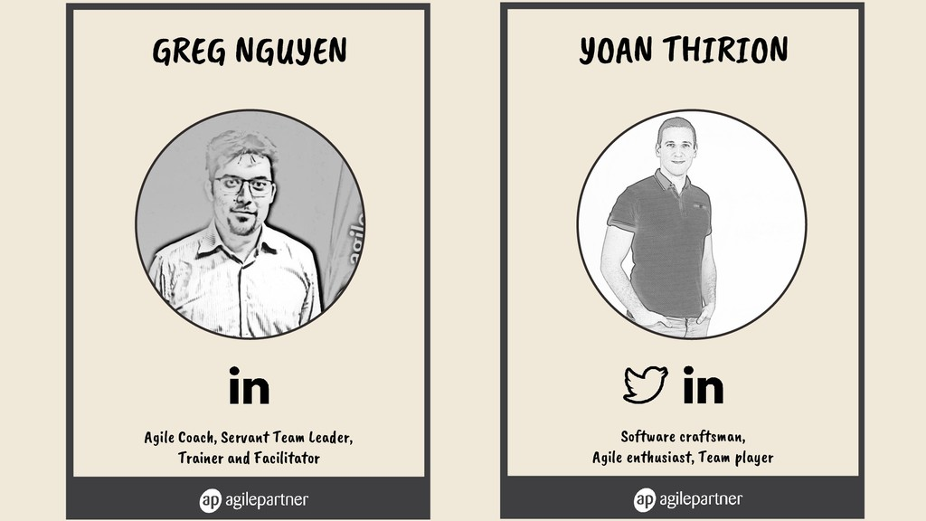 Software craftsman, Agile enthusiast, Team play...