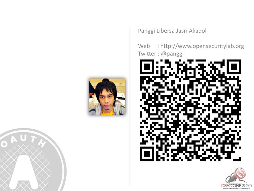 Panggi Libersa Jasri Akadol Web : http://www.op...