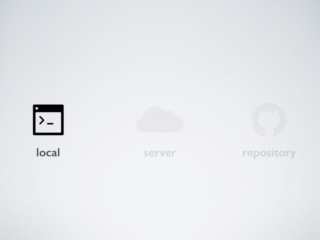 local server repository