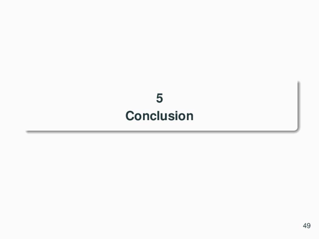 5 Conclusion 49