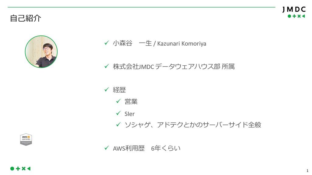 """1 02, ü """"-*  / Kazunari Komoriya ü )+JMDC ..."""