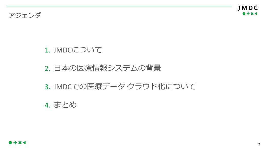 "2  1. JMDC 2.  !"" 3. JMDC..."