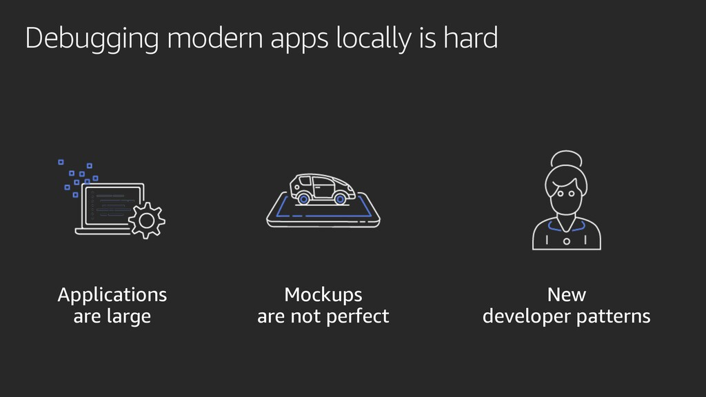 Debugging modern apps locally is hard New devel...