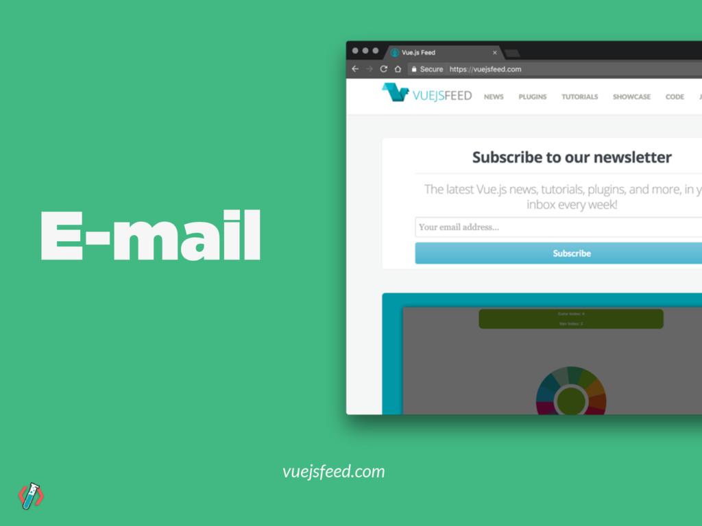 E-mail vuejsfeed.com