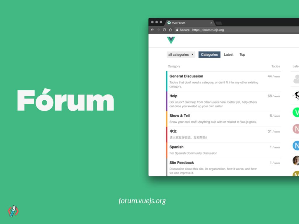 Fórum forum.vuejs.org