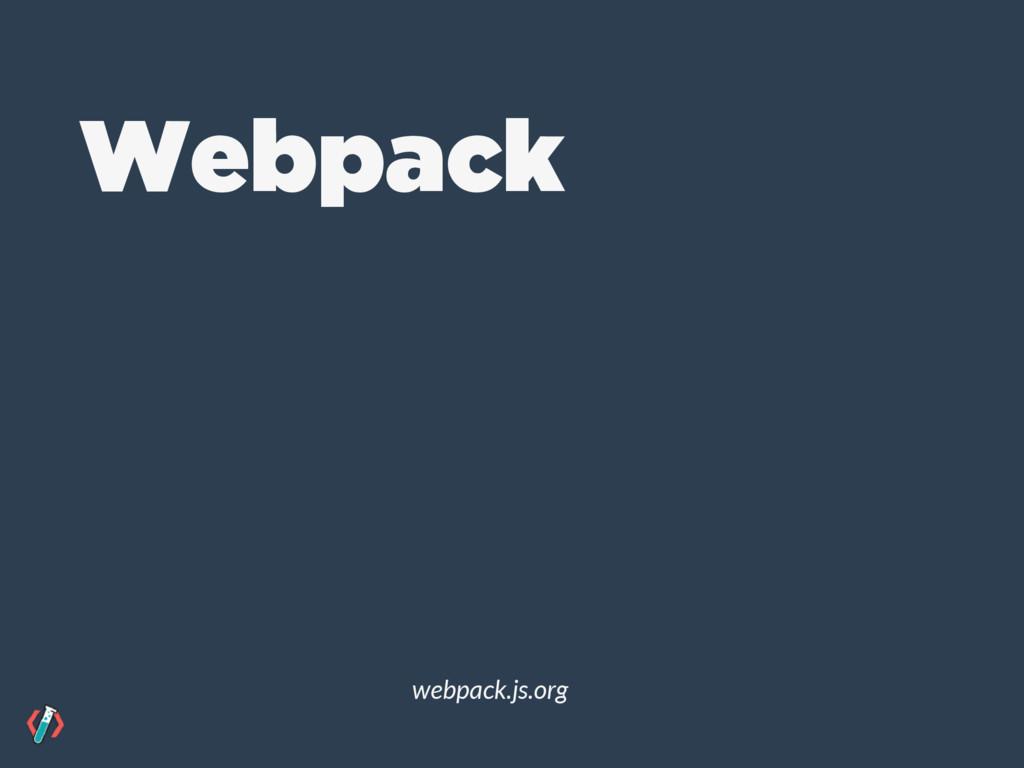 Webpack webpack.js.org
