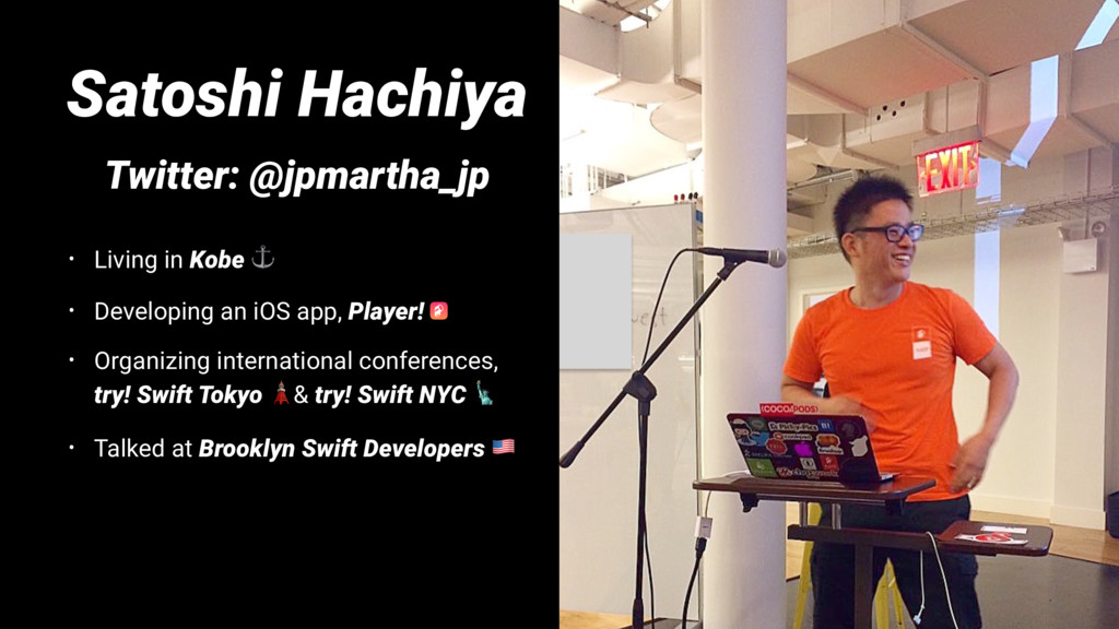 Satoshi Hachiya Twitter: @jpmartha_jp • Living ...