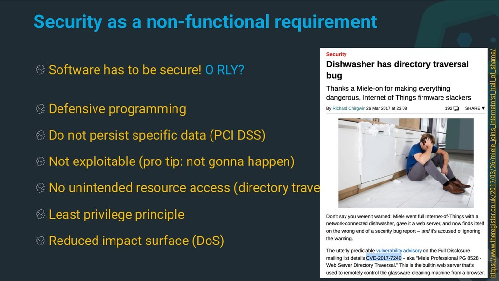 Security as a non-functional requirement Softwa...