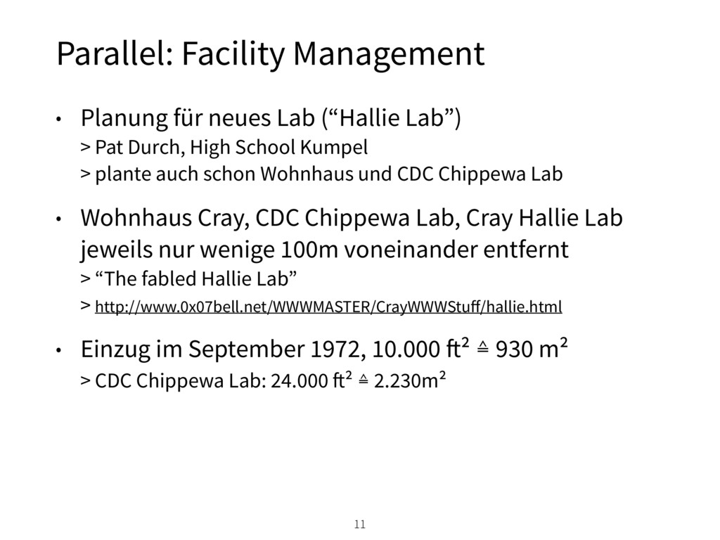 Parallel: Facility Management • Planung für neu...