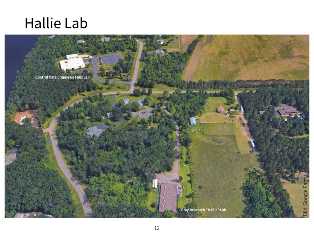 Hallie Lab 12 Bild: Google Earth