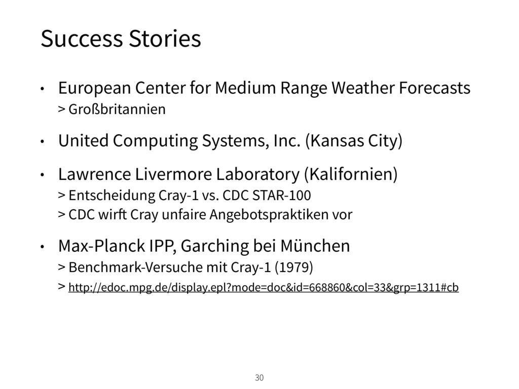 Success Stories 30 • European Center for Medium...