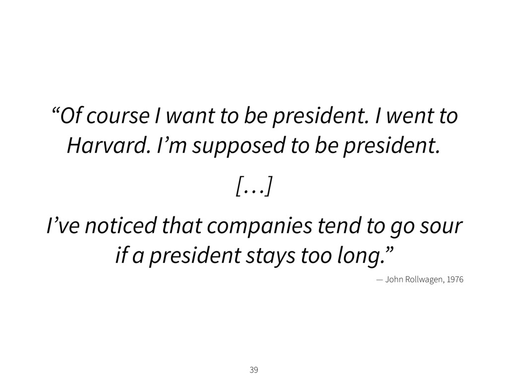 """39 """"Of course I want to be president. I went to..."""