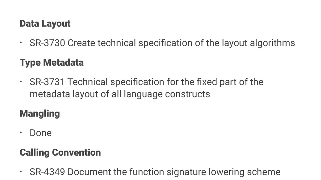 Data Layout • SR-3730 Create technical specifica...