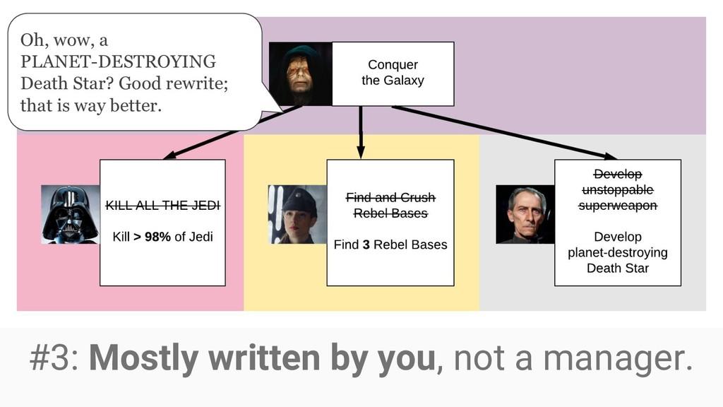 Oh, wow, a PLANET-DESTROYING Death Star? Good r...