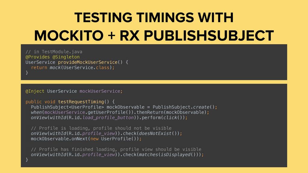 TESTING TIMINGS WITH MOCKITO + RX PUBLISHSUBJEC...