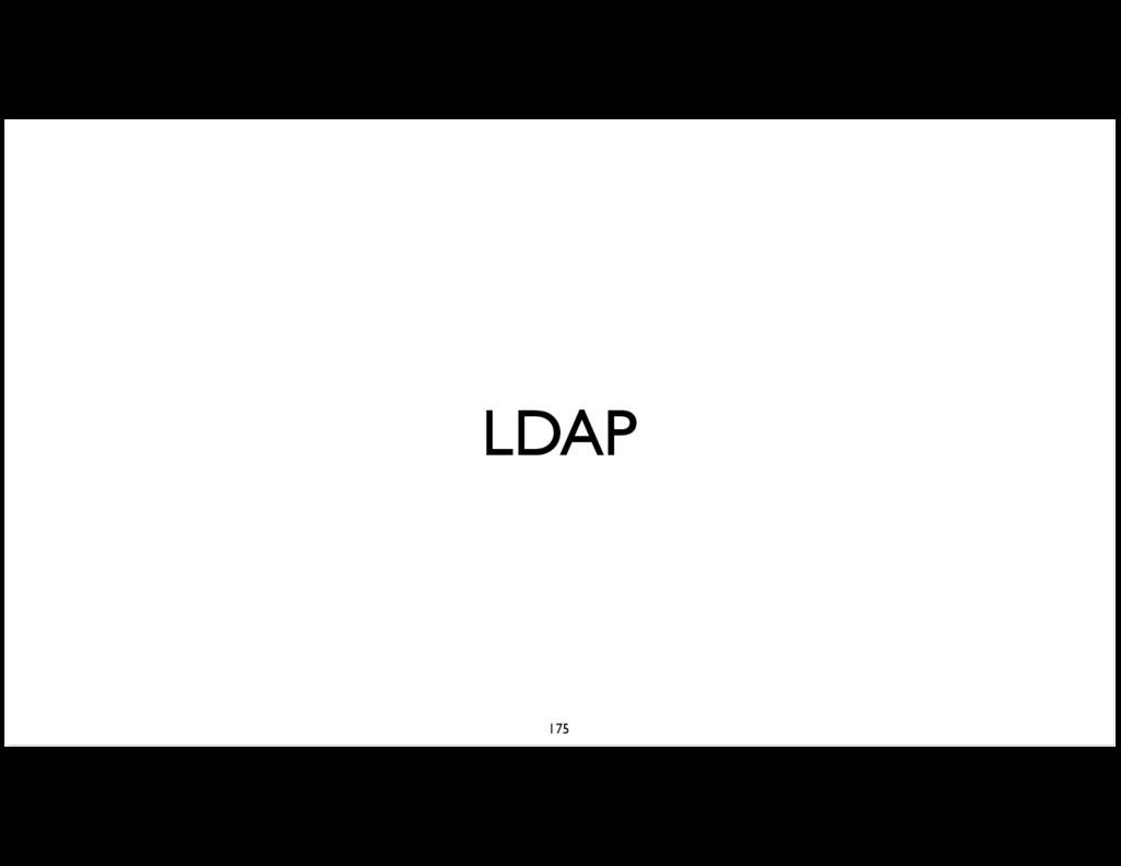 LDAP 175