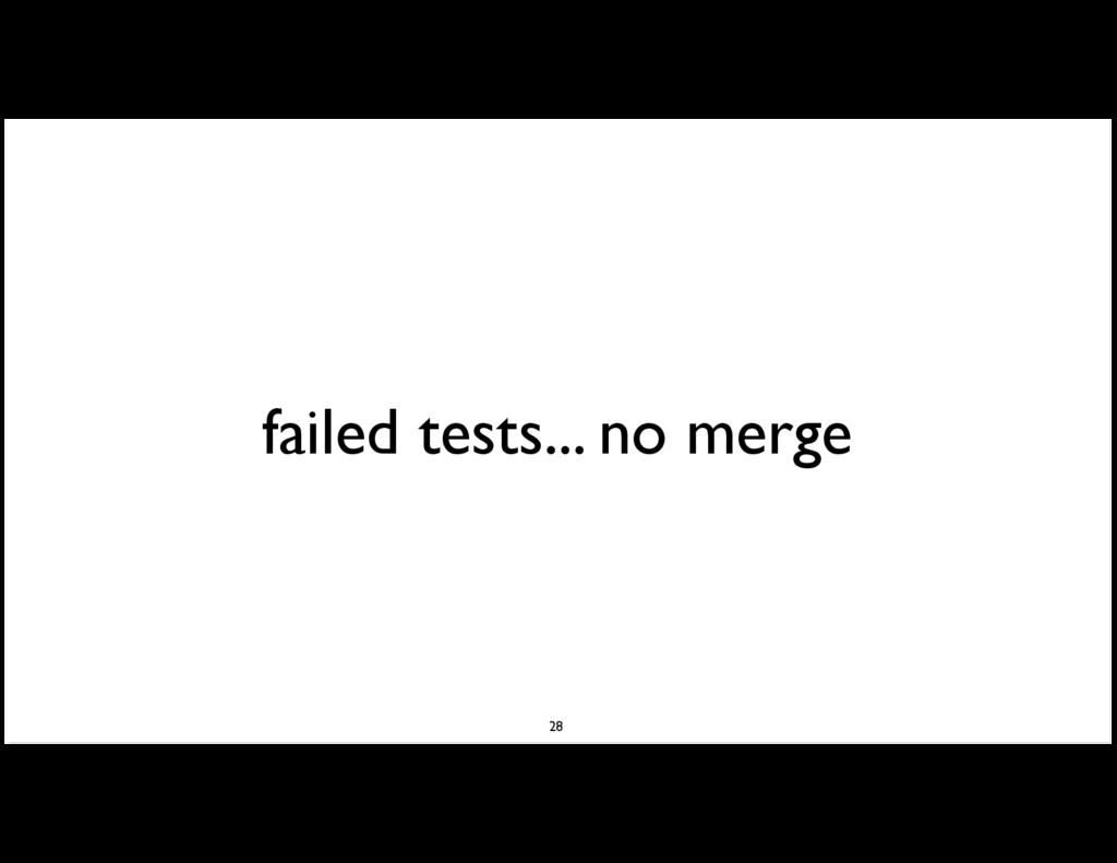 failed tests... no merge 28