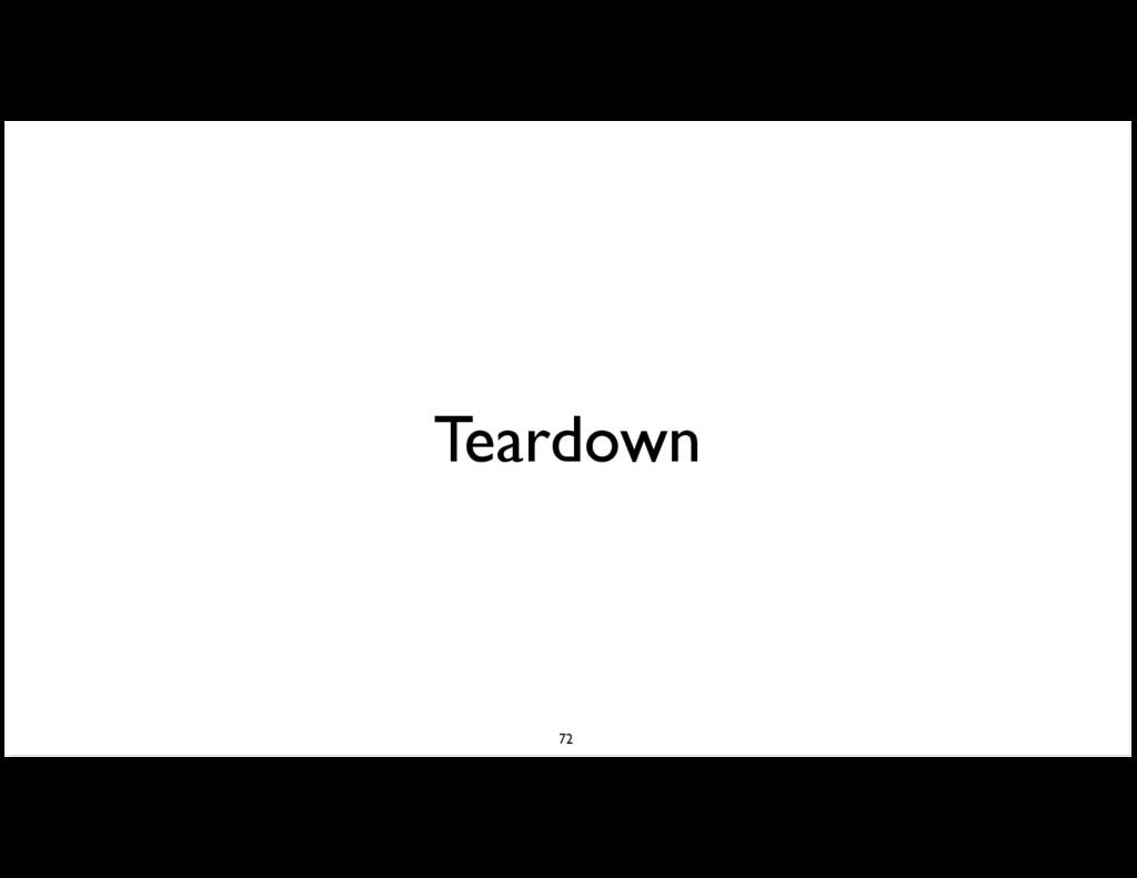 Teardown 72