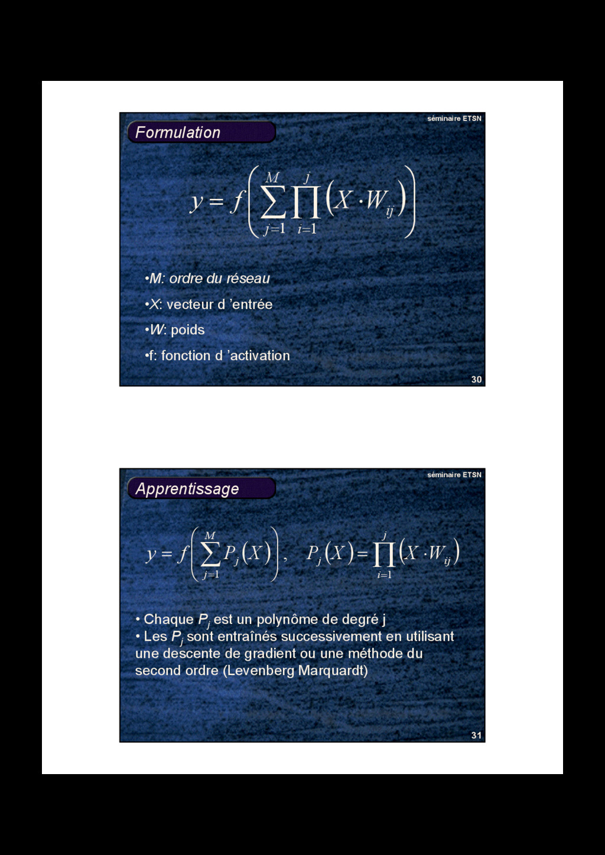 30 séminaire ETSN Formulation ( )       ...