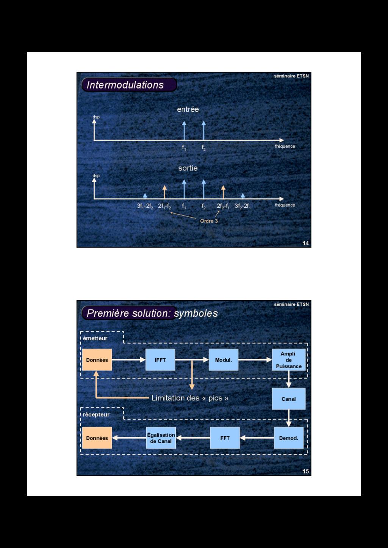 14 séminaire ETSN Intermodulations fréquence ds...