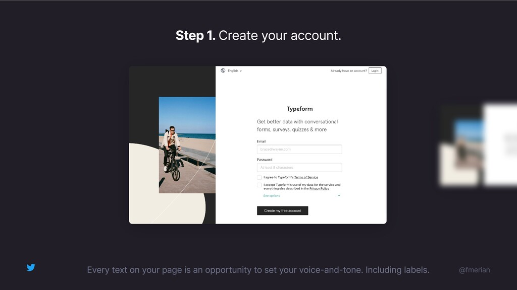 Step 2. Activate your account.