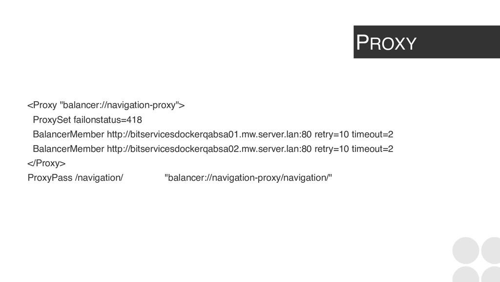 """PROXY <Proxy """"balancer://navigation-proxy""""> Pro..."""