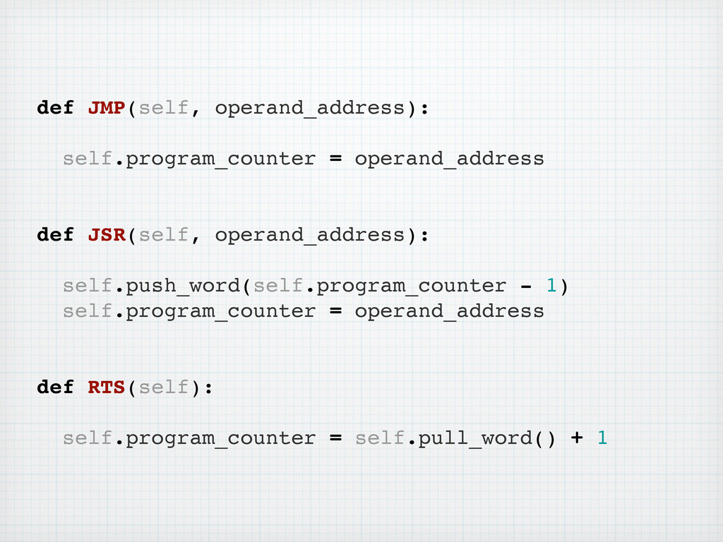 def JMP(self, operand_address): self.program_co...