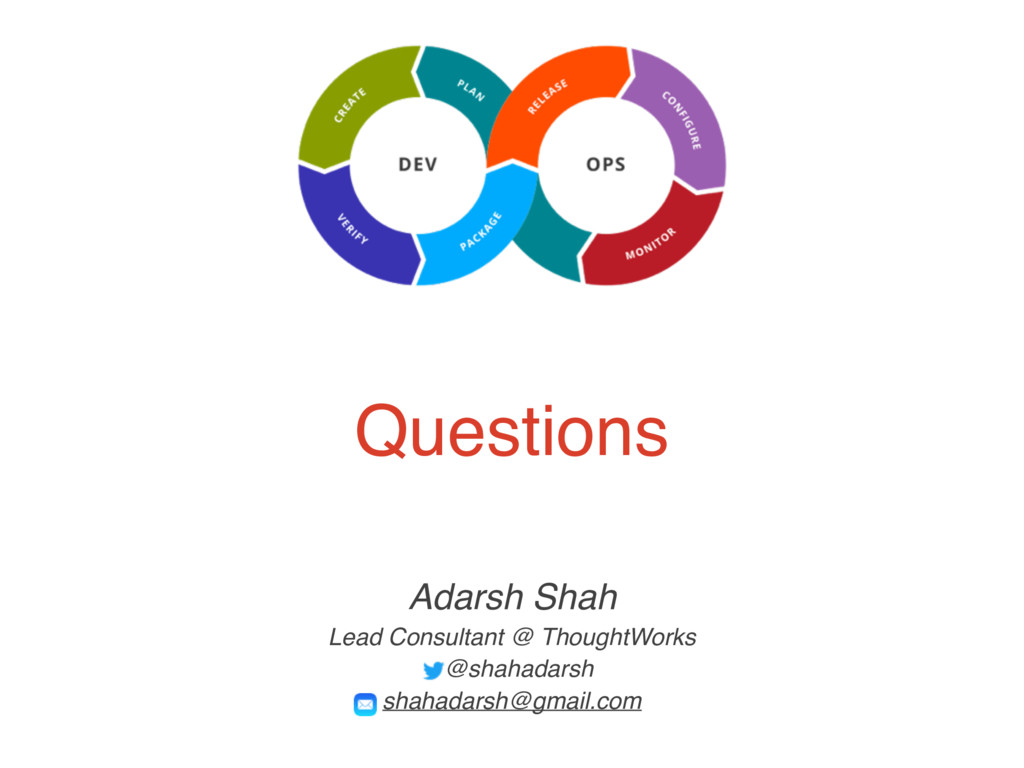 Questions Adarsh Shah Lead Consultant @ Thought...