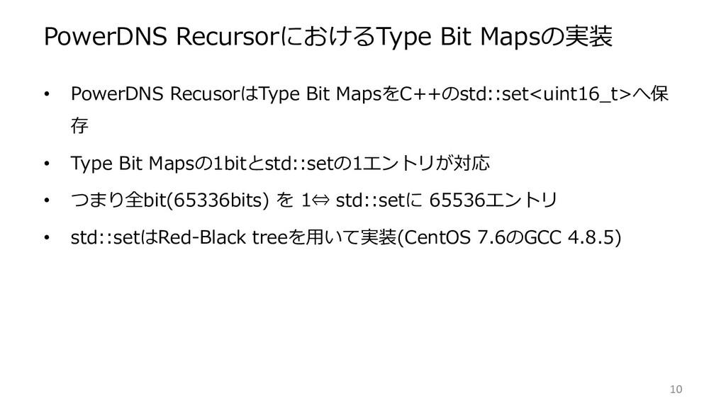 PowerDNS RecursorにおけるType Bit Mapsの実装 • PowerDN...