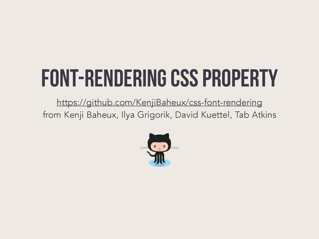 font-rendering CSS PROPERTY https://github.com/...