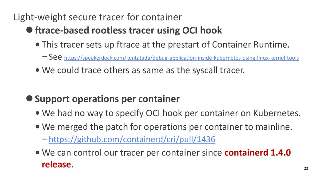 Light-weight secure tracer for container ⚫ftrac...