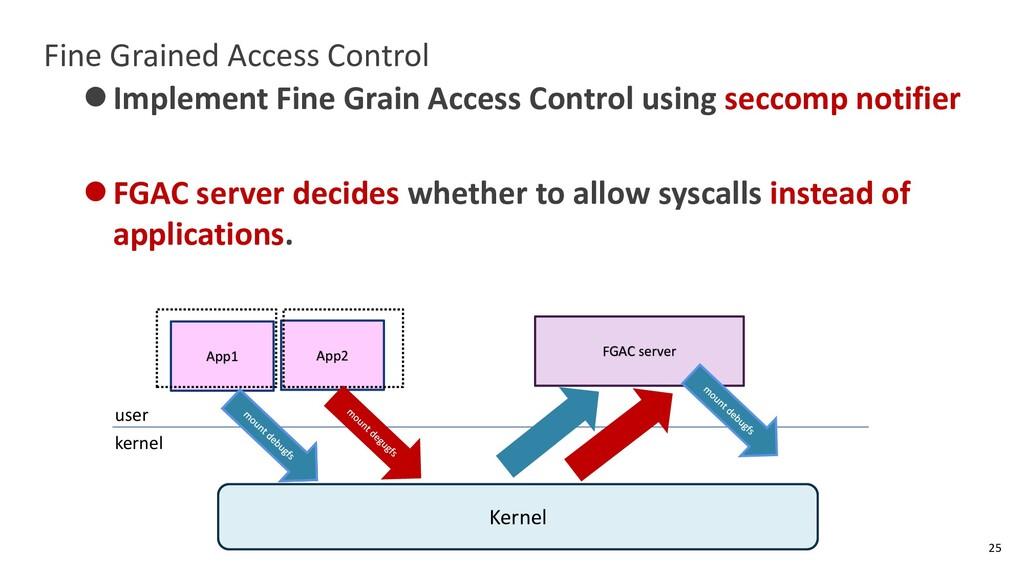 Fine Grained Access Control ⚫Implement Fine Gra...