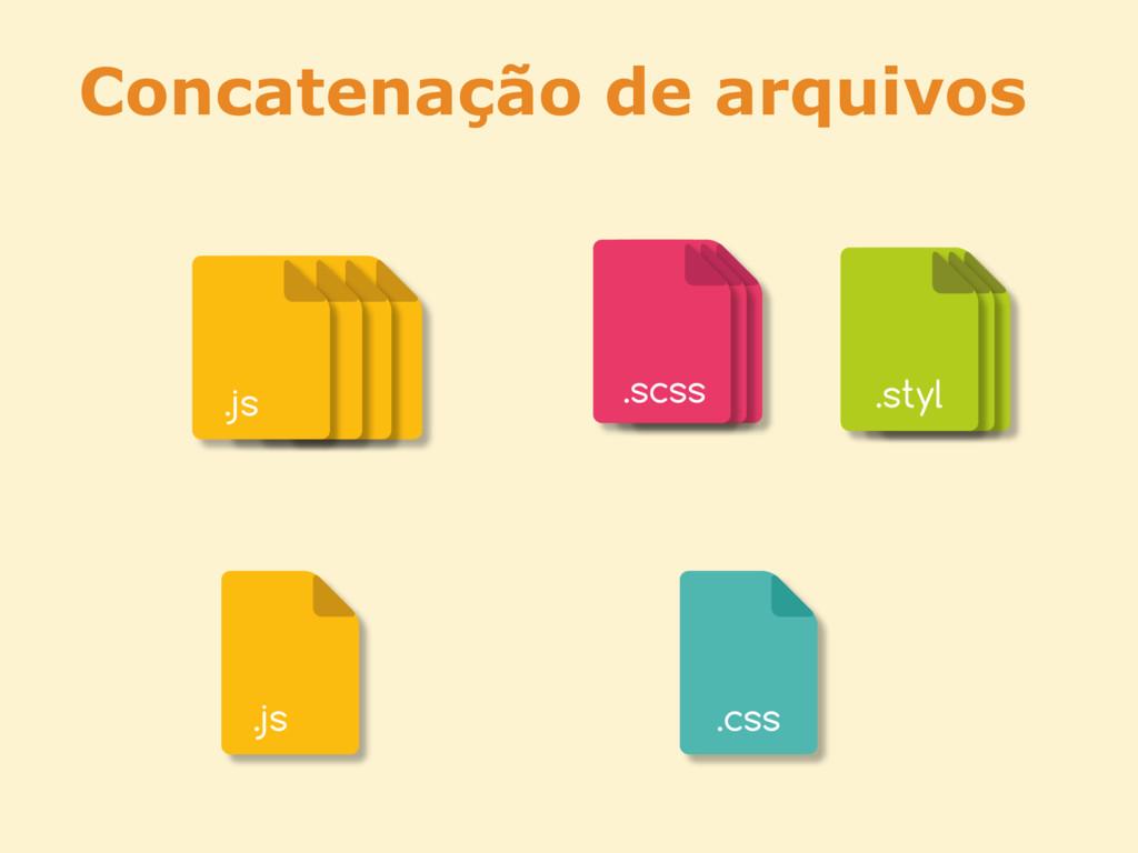 Concatenação de arquivos