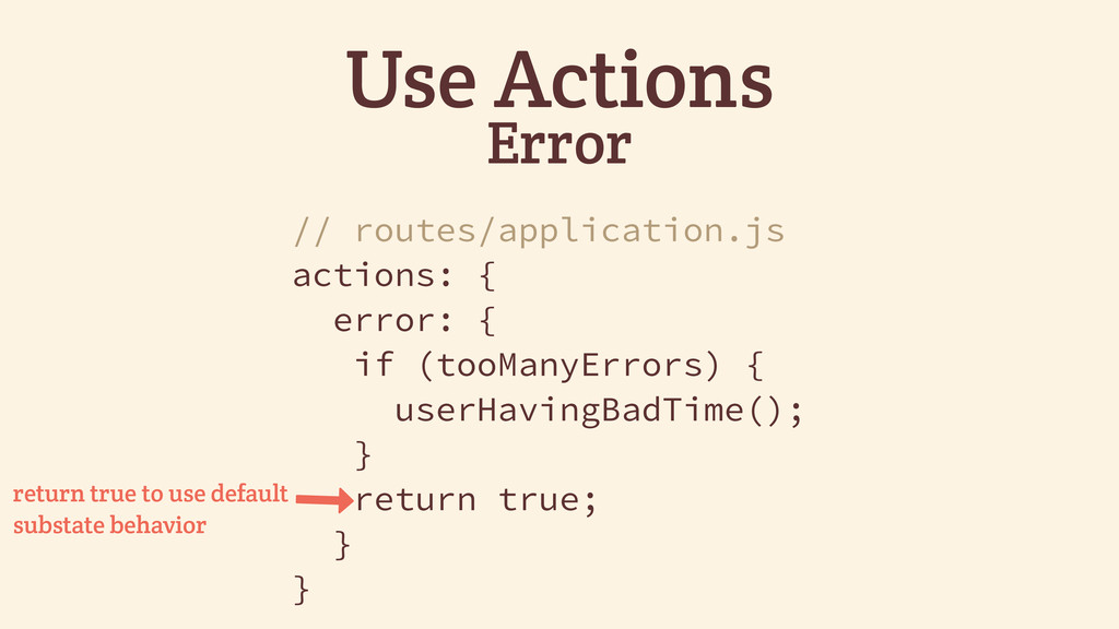 Use Actions Error // routes/application.js acti...