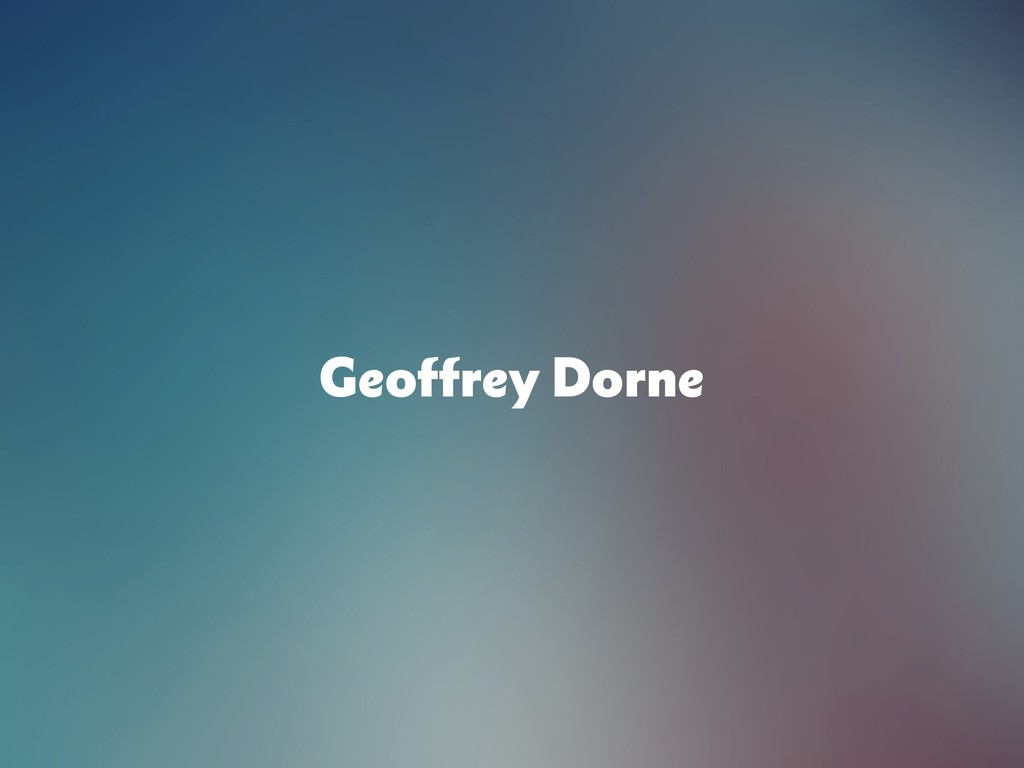 Geoffrey Dorne
