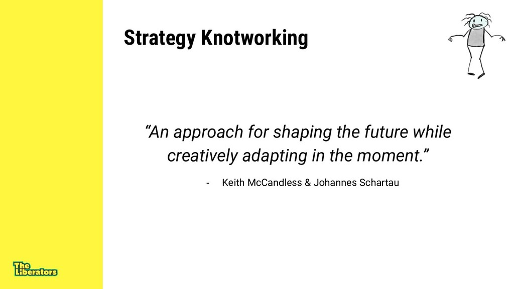 "Strategy Knotworking ""An approach for shaping t..."