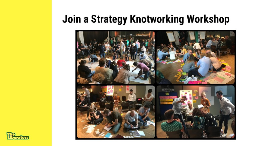 Join a Strategy Knotworking Workshop
