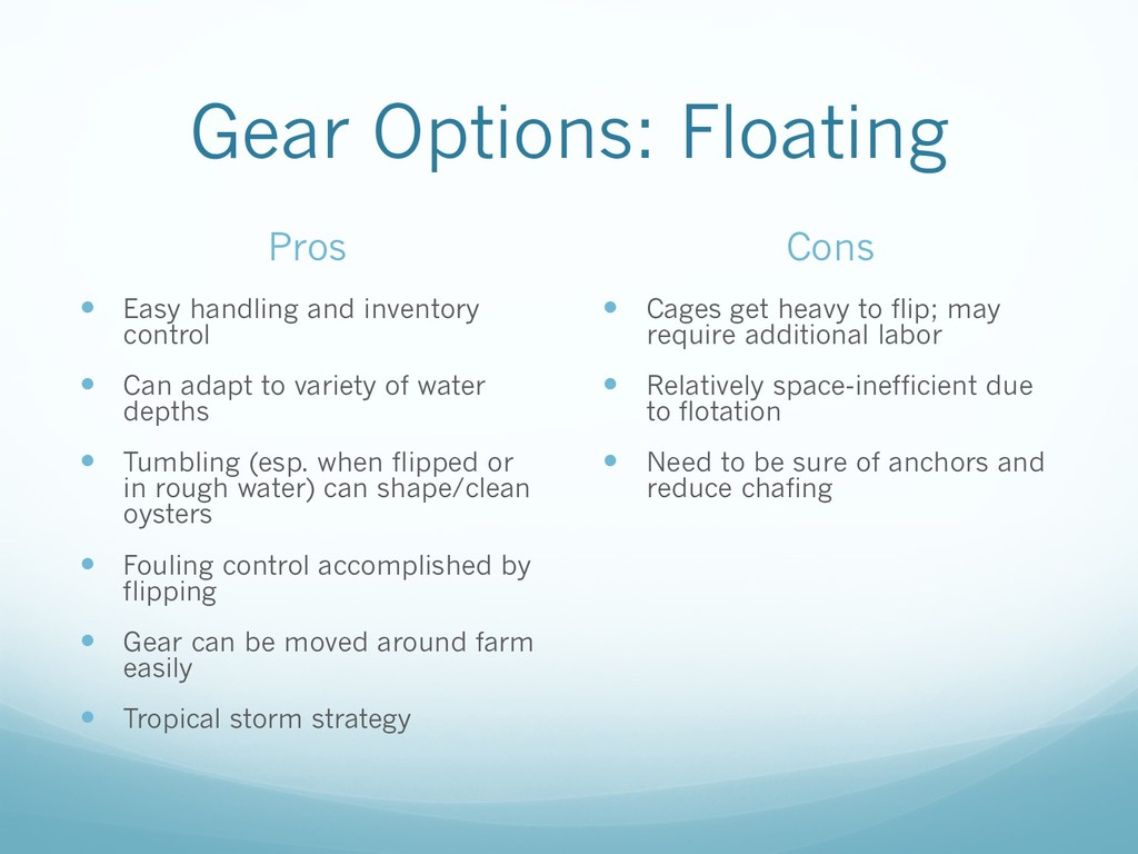 Gear Options: Floating Pros — Easy handling and...