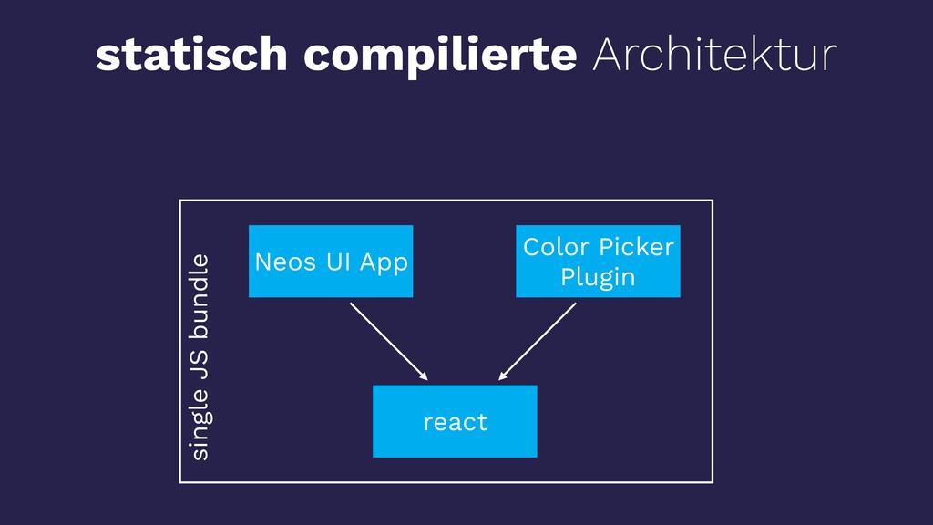 react Neos UI App Color Picker Plugin statisch ...