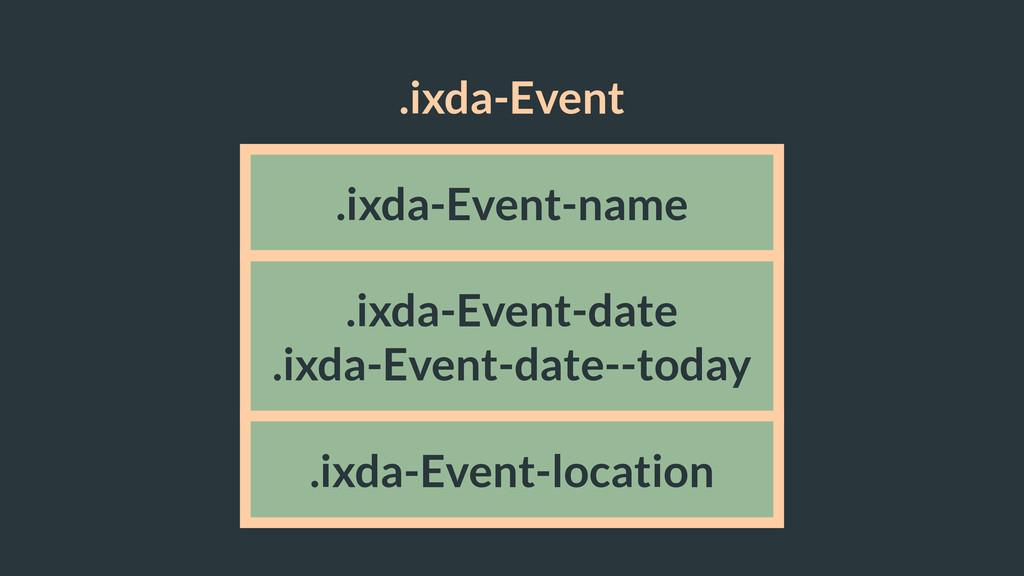 .ixda-Event .ixda-Event-name .ixda-Event-date ....