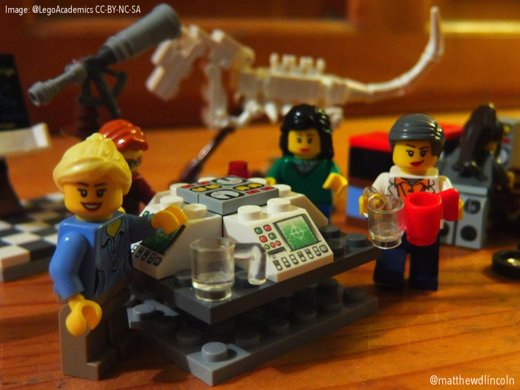 Image: @LegoAcademics CC-BY-NC-SA @matthewdlinc...