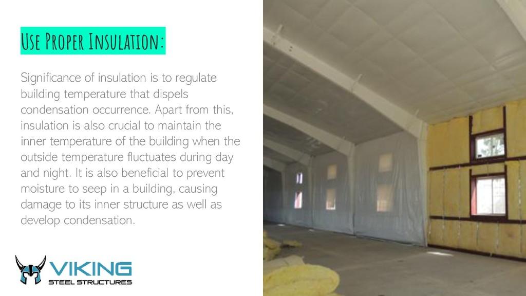 Use Proper Insulation: Significance of insulati...