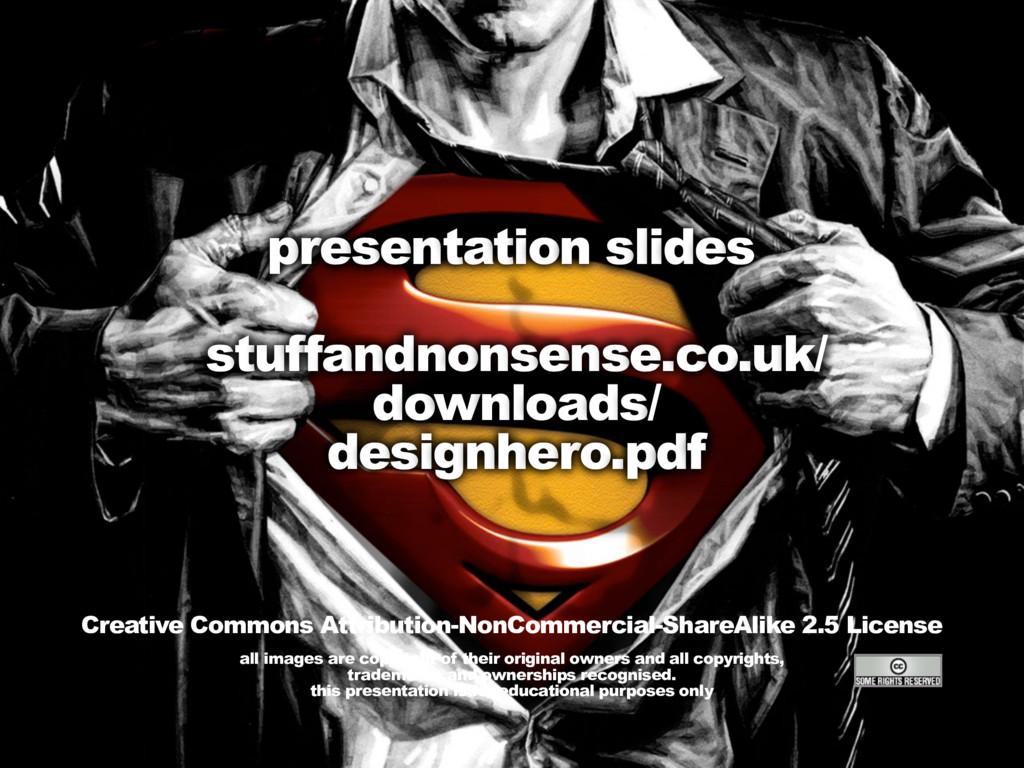 HOW TO BE A WEB DESIGN SUPERHERO stuffandnonsen...